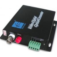 SWV60101 @ 1 Kanal Analog Video + PTZ Data Fiber Optik Çevirici