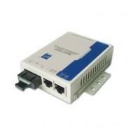 Model1200 @ 2 Port Fast Ethernet Fiber Optik Media Converter SC MM