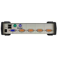VGA KVM Switch 4 Port Giriş 1 Port Çıkış @ ATEN-CS84U