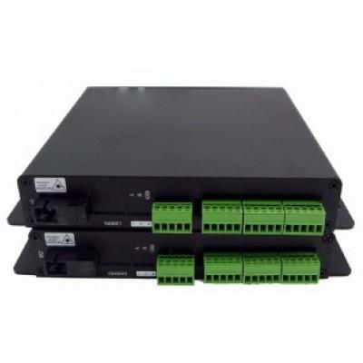 CLR-DCF-C04B @ 4 Port Kuru Kontak Fiber Optik Çift Yönlü Çevirici Set