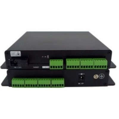 CLR-DCF-C16 @ 16 Port Kuru Kontak Fiber Optik Çevirici Set