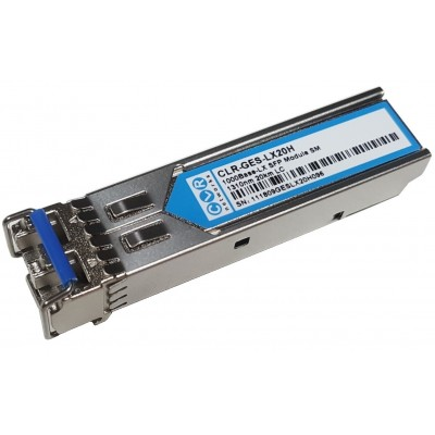 CLR-GES-LX20H @ Gigabit SFP Modül 1000Base-LX LC Duplex SM 1310nm 20km HP