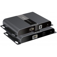 CLR-HDMI-F21 @ 4Kx2K 30Hz HDMI Fiber Optik Çevirici SC SM 20km IR