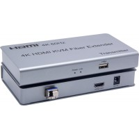 CLR-HDMI-K60F @ 4K HDMI2.0 + USB Fiber Optik KVM Extender