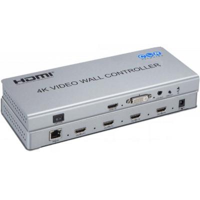 CLR-HDMI-W22D @ 2x2 HDMI 4K Video Wall - 1 giriş 4 çıkış