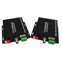 CLR-HDV-A501 @ 1 Kanal 5 Megapixel AHD Video + PTZ Data Fiber Optik Çevirici