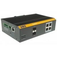 CLR-IES-2506N @ 4*Gigabit RJ45 + 2*SFP Endüstriyel Switch L2+ Ring, Akıllı Cloud Switch