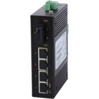 CLR-IES-41S @ 4*10/100M RJ45 + 1*100M SC SM Endüstriyel Switch