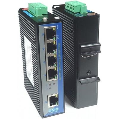 CLR-IES-G50 @ 5*10/100/1000M RJ45 Endüstriyel Ethernet Switch Yönetilemez