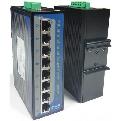 CLR-IES-G80 @ 8*10/100/1000M RJ45 Endüstriyel Ethernet Switch Yönetilemez
