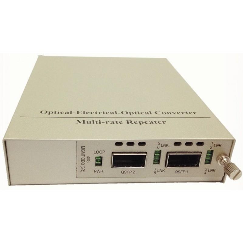 CLR-MC40G-3R @ 40G 3R Repeater OEO Converter