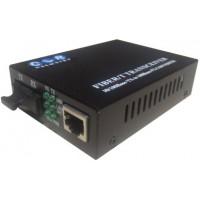 CLR-MCF-10 @ Fast Ethernet Fiber Optik Media Converter SC MM