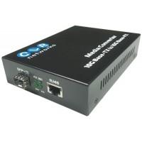 CLR-MCT-SFP @ 10G Ethernet Fiber Optik Media Converter SFP+ Slot
