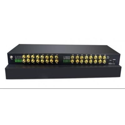 CLR-RCA-F320 @ 32 Kanal RCA Audio SM Fiber optik Çevirici