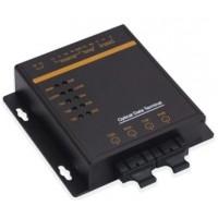 CLR-STF-RS @ Seri RS232/RS485/RS422 2 Port SM Fiber Optik Çevirici