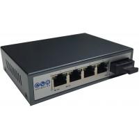 CLR-SWF-401P @ Fast Ethernet PoE Switch 4*PoE  + 1*SC Duplex 20km