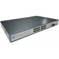 CLR-SWG-1602P @ 16 RJ45 PoE + 2 SFP Uplink Gigabit Ethernet PoE Switch