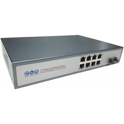 CLR-SWG-82P @ 8 RJ45 PoE + 2 SFP Uplink Gigabit Ethernet PoE Switch
