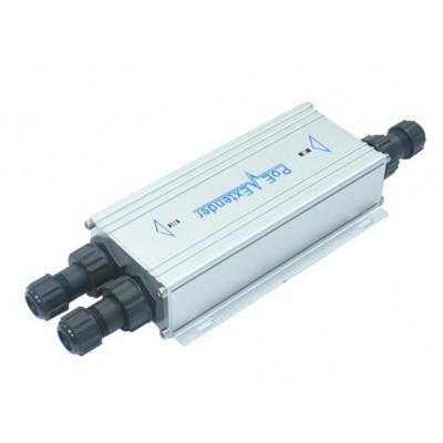 CLR-SWG-EX1260HP @ 1Port Giriş 2Port Çıkış 10/100/1000M 65W Endüstriyel PoE Extender