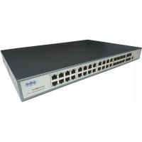 Omurga Switch 24 Port RJ45 + 8 Port SFP + 4 Port SFP+ L3 Managed @ CLR-SWT-2412F