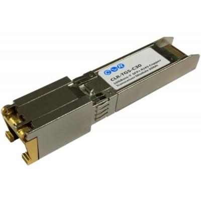 CLR-TGS-C30 @ 10GBase-T RJ45 Bakır SFP+ Modül 30m