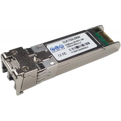 CLR-TGS-ZR80 @ 10GBase-ZR SFP+ Modül LC Duplex Singlemode 1550nm 80km