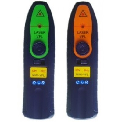 CLR-VFL-PT10 @ 650nm 10mW Fiber Optik Işık Test Cihazı Plastik