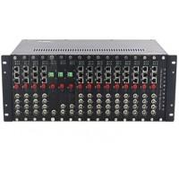 CLR-VTR-S16 @ 19'' 4U 16 Slot Video Optik Çevirici Rack Şasi