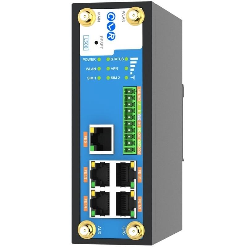 4G LTE Router 5Port 10/100M RJ45 Dual Sim + WiFi + GPS + Dual Seri Port @ CLR-CNS-L500