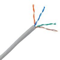 884028814/10 @ Netconnect Cat6 U/UTP LSOH 24 AWG Gri 305m Makara