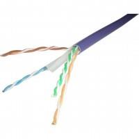 100-071-500M @ Excel CAT6 U/UTP LSZH Kablo Mor 500Mt