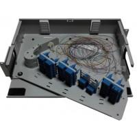 FRP-HD48SCD @ F/O Pivot Rack Tipi 48 Port SC Duplex Patch Panel