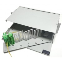 FRP-HD72SCD @ F/O Pivot Rack Tipi 72 Port SC Duplex Patch Panel