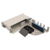 FRP-P72SCS @ F/O Pivot Rack Tipi 72 Port SC Simplex Patch Panel