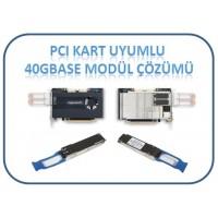PCI Kart Uyumlu 40GBase-LR4 SFP Modül