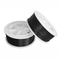 POF-C5102201 @ POF PMMA Plastik Optik Fiber Kablo 1.0/2.2mm Siyah PE 1Core