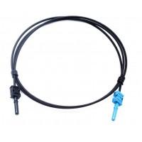 POF-P313301 @ HFBR-4531Z - HFBR-4533Z Simplex 980/1000 PE Plastik Optik Fiber Patch Cord 1m