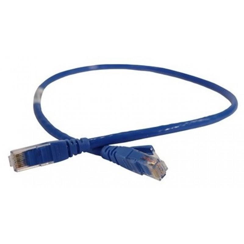 051834 @ LEGRAND U/UTP Patch Cord CAT6 LSZH 3m Mavi