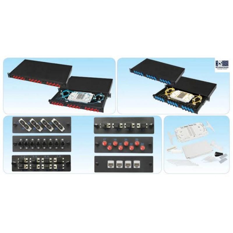 PFO-14825-2U @ HCS 48 Port Duplex Adaptör Modül Yuvası LC Tip