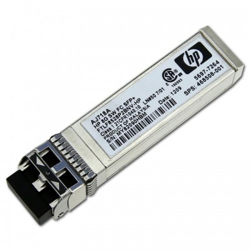 AJ718A @ HP 8G Fiber Kanal SFP+ Modül