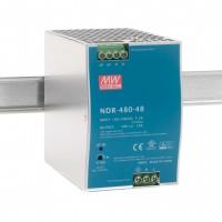 NDR-480-48 @ Meanwell  DIN Rail AC/DC Çevirici 480Watt 48Volt DC