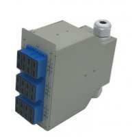 ON-PDR-TD102 @ F/O DIN Rail Tip 12 Port SC Duplex Sonlandırma Kutusu