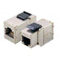 DSB-S10S @ RJ45 Adaptör CAT6 FTP Metal Snap in Coupler
