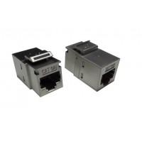 DSB-S20S @ RJ45 Adaptör CAT6A FTP Metal Snap in Coupler