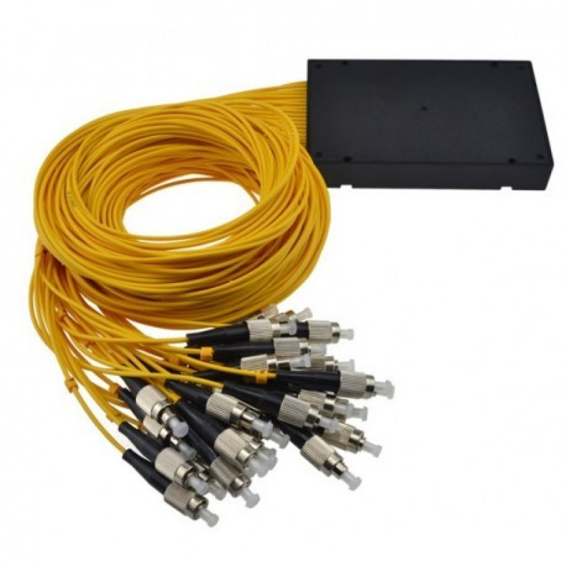 ON-FSP-FC132U @ 1:32 SM FC/UPC Fiber Optik PLC Splitter 1m