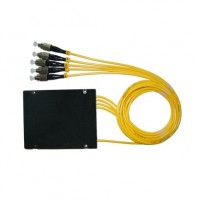 ON-FSP-FC140U @ 1:4 SM FC/UPC Fiber Optik PLC Splitter 1m