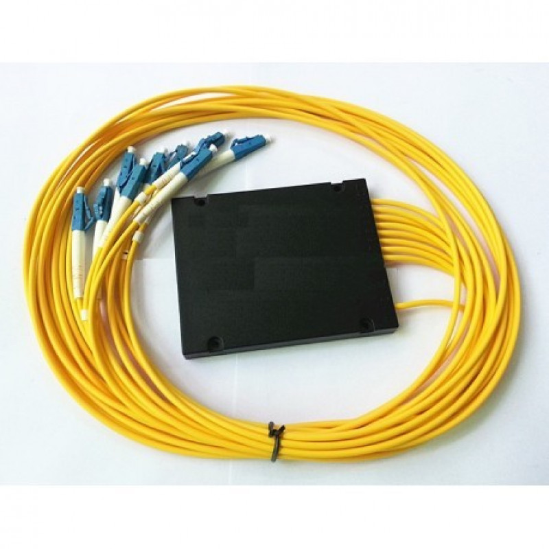 ON-FSP-LC180U @ 1:8 SM LC/UPC Fiber Optik PLC Splitter 1m