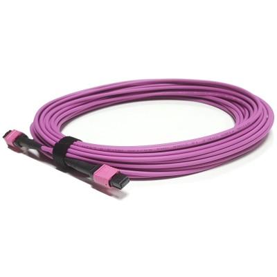 ON-MPO-F405C @ 40/100Gbps Multimode OM4 8-Core MPO PB Kablo 5m
