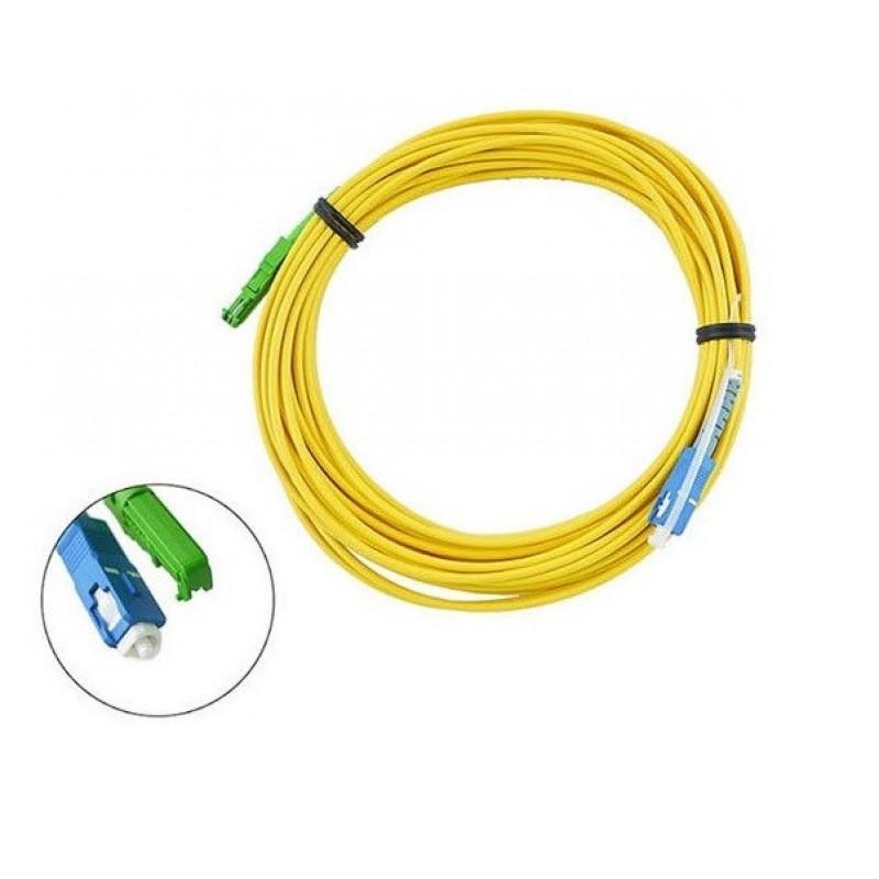 E2000/APC to SC/UPC SM 9/125μ LSZH 5Mt