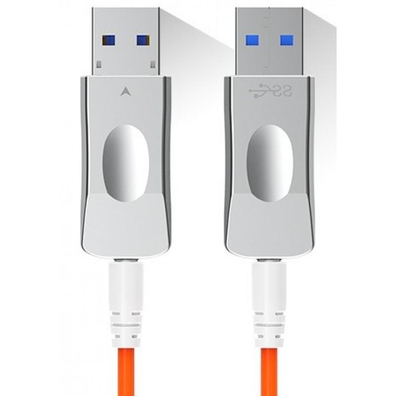 ON-USB-C3050F @ USB3.0 AOC Kablo MM Fiber 50m